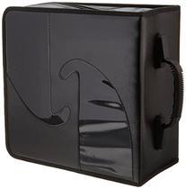 Boostwaves Premium PU Vinyl Leather 520 CD/DVD Media Wallet