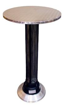 AZ Patio Heaters Pub Table with Built-In Electric Heater