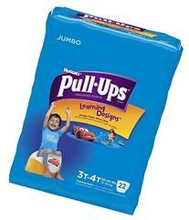 Huggies Pull-Ups Learning Designs Training Pants 3T-4T 22 CT