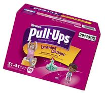 Huggies Pull-Ups Training Pants - Learning Designs - Girls