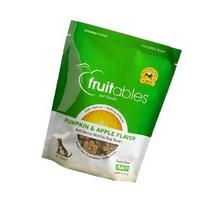Fruitables Pumpkin & Apple Crunchy Dog Treats, 7oz Pouch