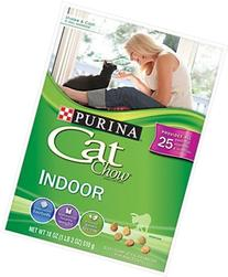 Cat Chow Purina Indoor Cat Chow Cat Food, 18 oz