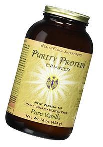 Healthforce Purity Protein Pure Vanilla Powder, 454 Gram