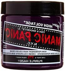 Manic Panic Purple Haze Semi Permanent Vegan Hair Dye, 4FL