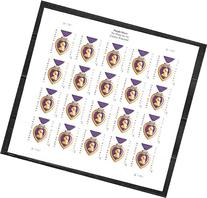Purple Heart Sheet of 20 Forever Stamps Scott 4704