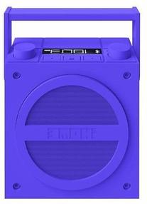 Purple iBT4 Bluetooth® Rechargeable Portable Retro-Style