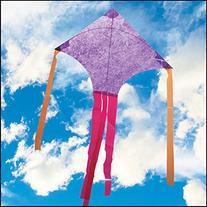 Purple Mylar Dart Kite