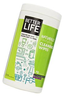 Better Life All-Purpose Cleaner Wipes, Clary Sage & Citrus,