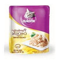 WHISKAS PURRFECTLY Chicken Wet Cat Food Chicken Entree