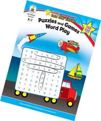 Puzzles and Games: Word Play, Grades K - 1: Gold Star