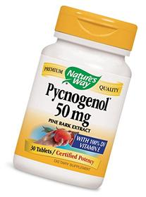 Nature's Way Pycnogenol,50mg  30 Tablets