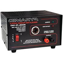 Pyramid PS15KX 10 Amp 13.8-Volt Power Supply with Cigarette