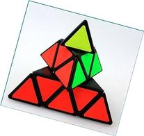 Shengshou Pyraminx Speed Cubing Twisty Puzzle, Black