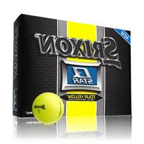 Srixon Q Star Golf Ball - Yellow