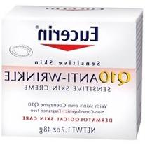 Eucerin Q10 Anti-Wrinkle Sensitive Skin Creme 1.7 oz