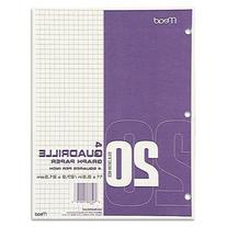 Mead Quadrille Graph Paper, Quadrille , 8 1/2 X 11, White,