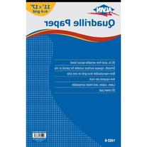 Alvin Quadrille Paper 4 x 4 Inches Grid 50-Sheet Pad