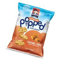 Quaker® Popped® Caramel Corn Rice Crisps 7.04 oz
