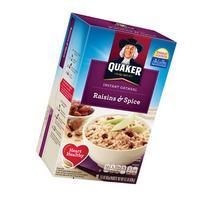 Quaker® Raisin & Spice Instant Oatmeal 10-1.51 oz.