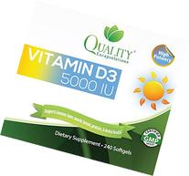Quality Encapsulations Vitamin D3 5000 IU Dietary