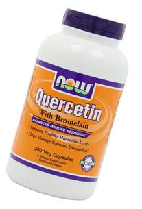 Quercetin with Bromelian, 240 Vcaps