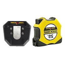 MagnoGrip 25 ft. Quick Snap Magnetic Tape Measure