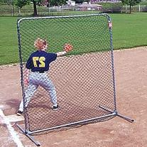 Jugs Quick-snap Square Protective Screen for Baseman, 6 - Feet