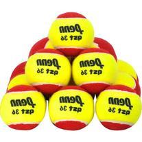 Penn Quick Start 36 Felt 72-Case Pack Kids Tennis Balls 72