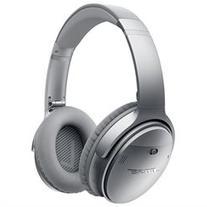 Bose QuietComfort 35 Wireless Headphones - Stereo - Silver - Wireless - Bluetooth - Over-the-head - Binaural - Circumaural
