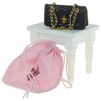The Queen's Treasures Quilted Designer Handbag for 18 inch