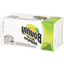 Bounty Quilted Napkins, White 1 Ply, Super Strong - 200 ct
