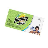 Bounty Quilted Napkins, Assorted White and Prints, 200-Count