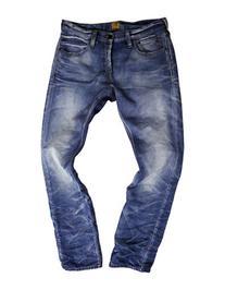 Prps Qwerty Slim-Fit Cotton Denim Pants-INDIGO-29X34