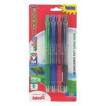 Pentel R S V P Rt 4Pk Retract Ball Point Pens Med Blk Red