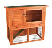 TRIXIE Pet Products Rabbit Hutch with Sloped Roof, Small,