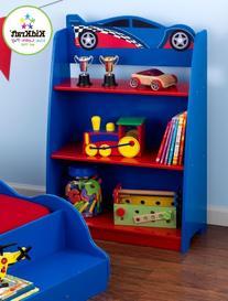 KidKraft Racecar Bookcase