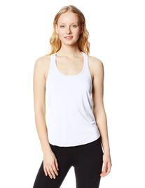 Soffe Women's Performance Racer Tank, White, Small