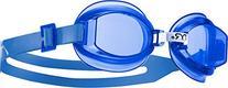 TYR Racetech Goggle: Blue Lens
