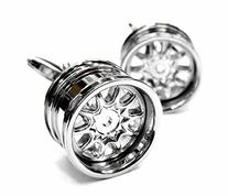 APEX Racing Rims Car Automobile Auto Cufflinks with Gift Box
