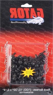 Gator Cases GRW-SCRW025 Rack Screws - 25 Pack