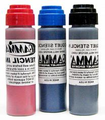 Gamma Racquet Stencil Ink, Red