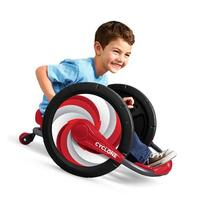 Radio Flyer Cyclone Ride-On, Capable of Doing 360-Degree