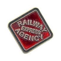 Railway Express Agency Pin 1