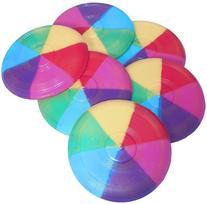 Mini Rainbow Flying Discs