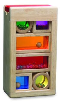 Wonderworld Rainbow Sound Blocks - Stackable Hollow Shape