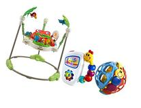 Fisher-Price Rainforest Jumperoo with Take Along Tunes &