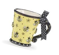 Raised Design 10oz Bee Mug