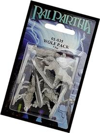 Ral Partha 01-035 Wolf Pack