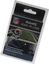 Rams Earplugs 6 Pair 3 Pack