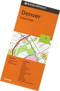 Rand Mcnally Denver Street Map